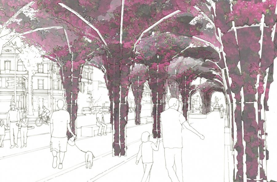 Devonport Master Plan_Perspectives_Arbour