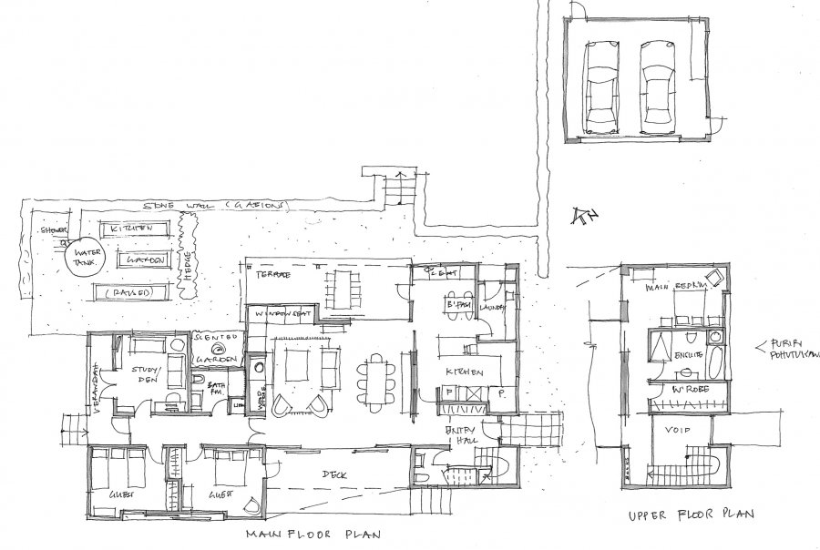 TeWhau Sketch Plan