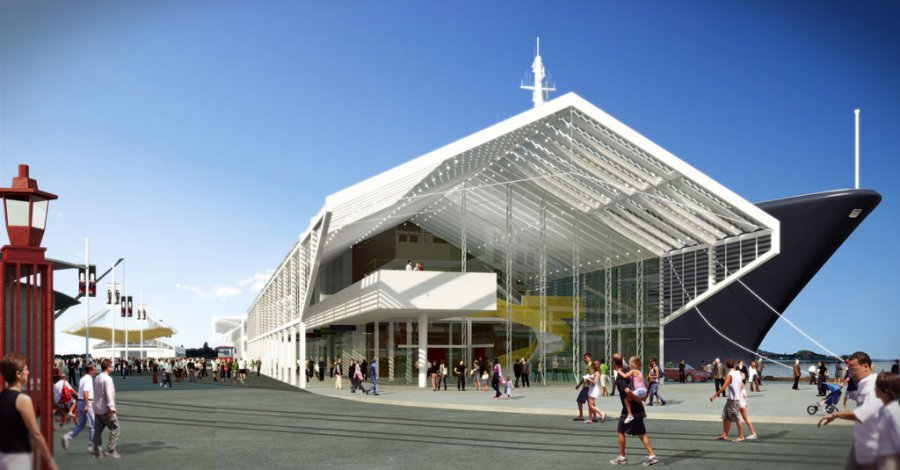Queens Wharf Competition_Render_South