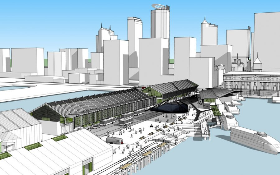 Queens Wharf Competition_Perspective_1