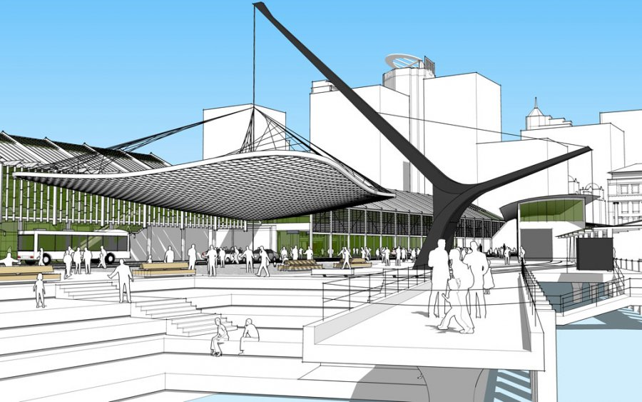 Queens Wharf Competition_Perspective_3