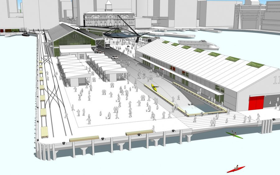 Queens Wharf Competition_Perspective_5